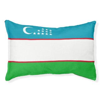 Usbekistan-Flagge Haustierbett