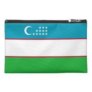 Usbekistan-Flagge Reisekulturtasche