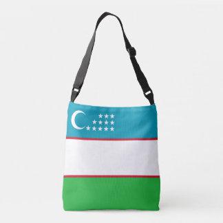 Usbekistan-Flagge Tragetaschen Mit Langen Trägern