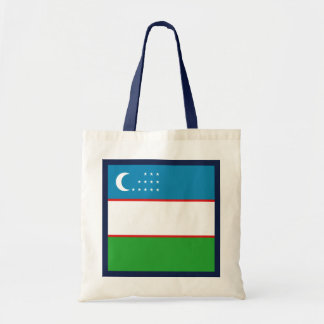 Usbekistan-Flaggen-Tasche Tragetasche
