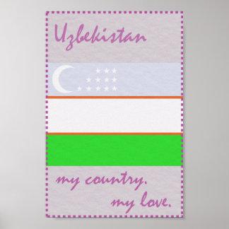 Usbekistan mein Land meine Liebe Poster