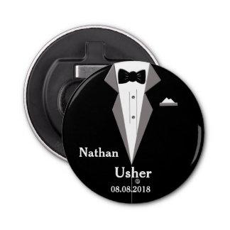 Usher personifizieren Hochzeits-Flaschen-Öffner Flaschenöffner