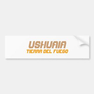 Ushuaia, Argentinien. Feuerland Autoaufkleber