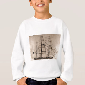USS Columbus Sailplan Sweatshirt