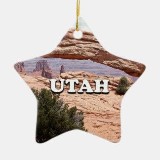 Utah: MESA-Bogen, Canyonlands Nationalpark, USA Keramik Stern-Ornament