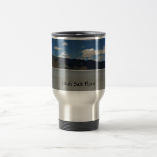 Utah-Salz-Ebene-Landschaft Reisebecher