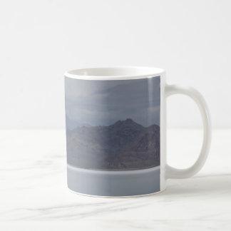 Utah-Salz und Skyline-Tasse Kaffeetasse