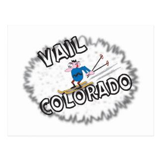 Vail Colorado - mit Clive Postkarte