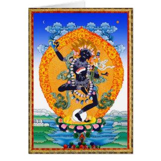 Vajravarahi cooler orientalischer Tibetaner Mitteilungskarte