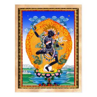 Vajravarahi cooler orientalischer Tibetaner Postkarte