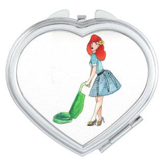 Vakuumkompakter Spiegel Taschenspiegel