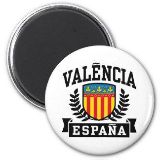 Valencia Espana Runder Magnet 5,7 Cm