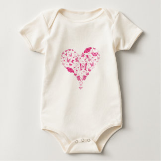 Valentine Baby Strampler