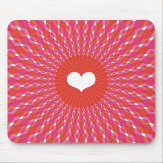 Valentine-Herz-Pop Mauspad