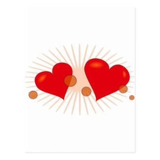 Valentine Postkarte