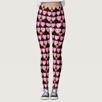 Valentines-Liebe-Süßigkeits-Herzen und Leggings