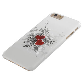 Valentinsgruß-Herzen kaum dort iPhone 6 Plusfall Barely There iPhone 6 Plus Hülle