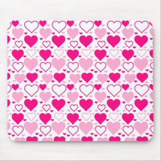 Valentinsgruß-Herzen Mousepad