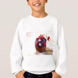 Valentinsgruß-kleiner Kuchen Sweatshirt