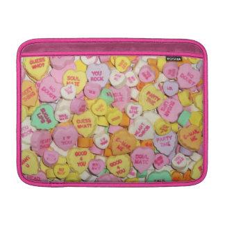 Valentinsgruß-Süßigkeits-Herzen Sleeve Fürs MacBook Air