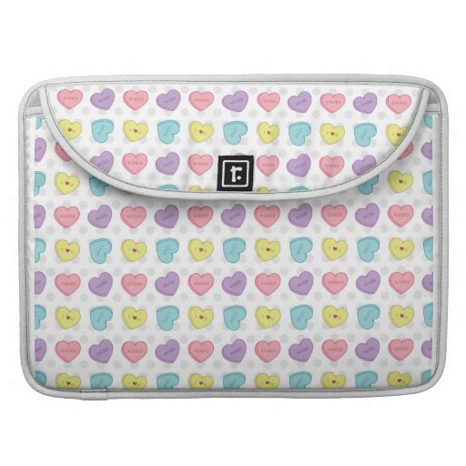 Valentinsgruß Sweetarts Mac-Prohülse MacBook Pro Sleeve