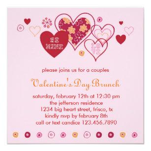 Valentinstags Einladungen Zazzle At