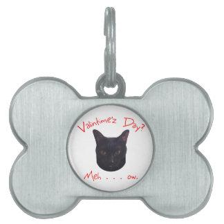 Valentinstag-Katze Meh Tiermarke