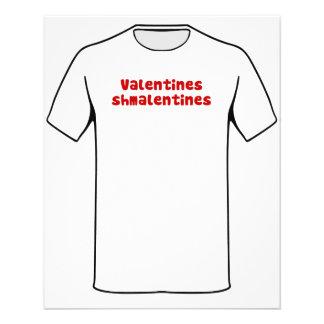 Valentinstag Schmalentines Tag Flyer