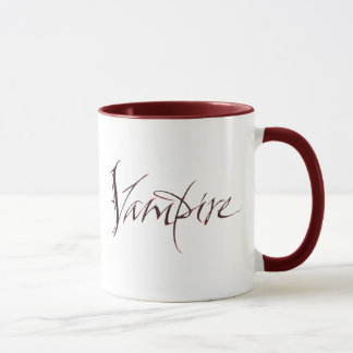 Vampire-Blut-Tasse - Halloween-Beschriftung Tasse