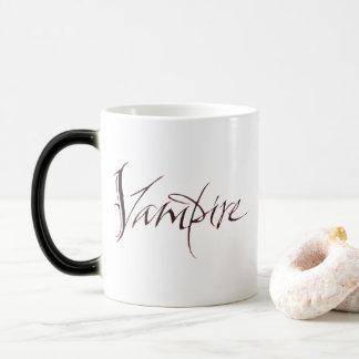 Vampire-Blut-Tasse - Halloween-Beschriftung Verwandlungstasse