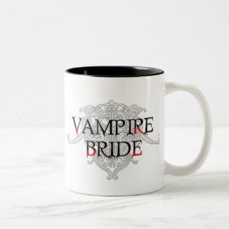 Vampire-Braut-Tasse Zweifarbige Tasse