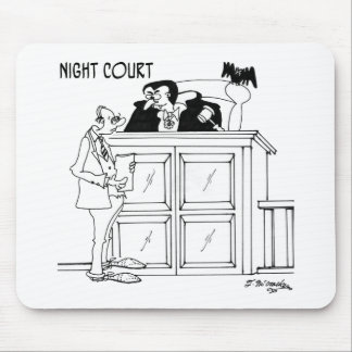 Vampire-Cartoon 5319 Mousepads
