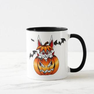 Vampire-Kürbis-Häschen-Tasse Tasse