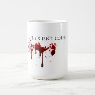 """Vampire-Spaß-""""nicht Kaffee-"""" Blut Tasse"""