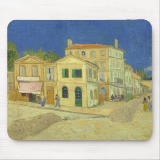 Van Gogh | das gelbe Haus | 1888 Mousepads