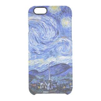 Van Gogh die sternenklare Nacht Durchsichtige iPhone 6/6S Hülle