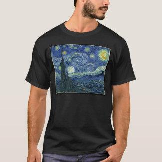 Van Gogh Gemälde: Sternenklare Nacht Van Gogh T-Shirt