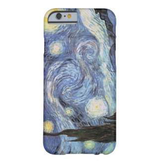 Van Gogh iPhone 6 Fall sternenklare Barely There iPhone 6 Hülle