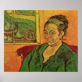 Van Gogh; Porträt von Madame Augustine Roulin Poster
