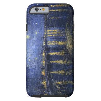 Van Gogh sternenklare Nacht über dem Rhône iPhone Tough iPhone 6 Hülle
