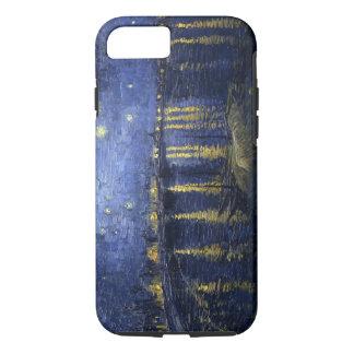 Van Gogh sternenklare Nacht über der Rhône iPhone 7 Hülle