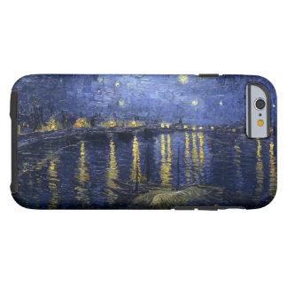 Van Gogh sternenklare Nacht über der Rhône Tough iPhone 6 Hülle