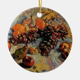 Van Gogh; Stillleben-Äpfel, Birnen, Zitronen, Keramik Ornament