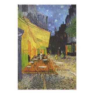 Van Gogh Terrasse-Café Kunstfoto