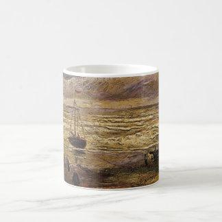 Van- Goghansicht von Meer in Scheveningen, schöne Kaffeetasse