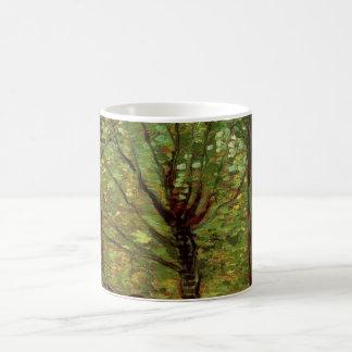 Van- Goghbaum-Unterholz, Vintager Impressionismus Tasse