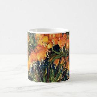 Van GoghFritillaries in einem kupfernen Vase, Kaffeetasse