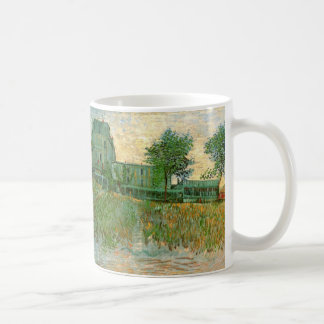 Van- Goghrestaurantla Sirene, Asnieres, schöne Tasse