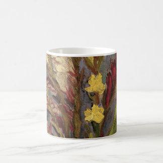 Van- Goghvase mit den Gladioli, Vintage feine Tasse