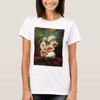 Van- Goghvase mit Pfingstrosen-T - Shirt